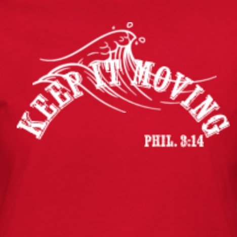 Red Keep it Moving T-Shirt
