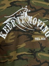 Army Green Keep it Moving T-Shirt