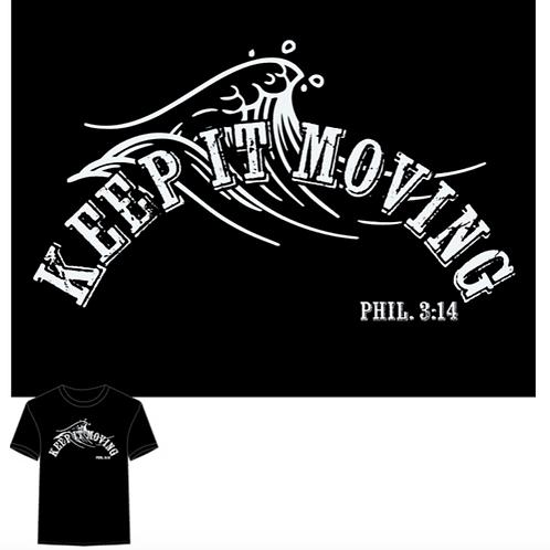 Jet Black Keep it Moving T-Shirt
