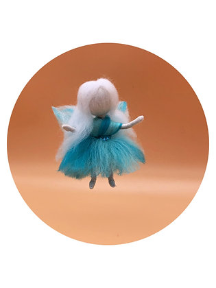 needle felted fairy wings