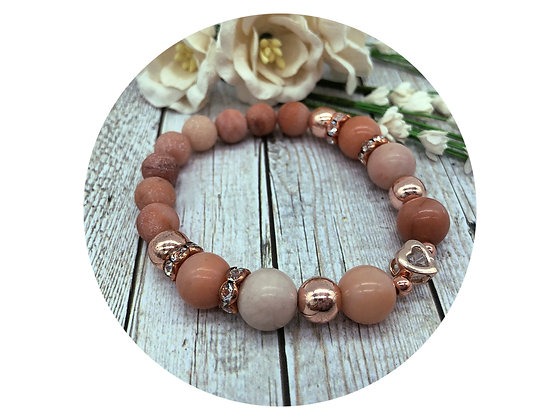 pink aventurine gemstone jewellery