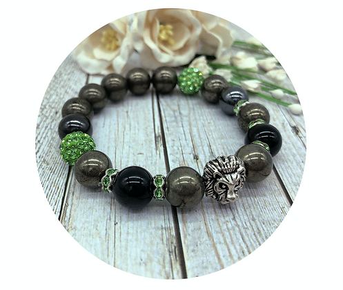 Pyrite gemstone jewellery