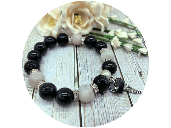 black tourmaline gemstone jewellery