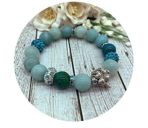 chrysocolla gemstone jewellery