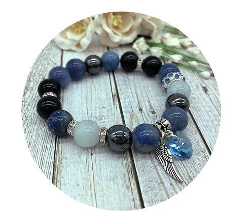 blue aventurine gemstone jewellery