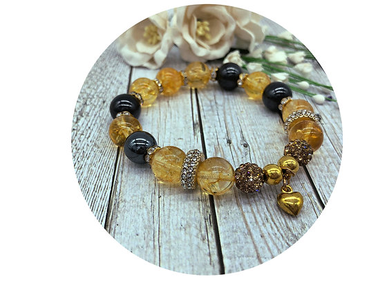 citrine gemstone jewellery