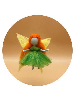 needle felted fairy wings