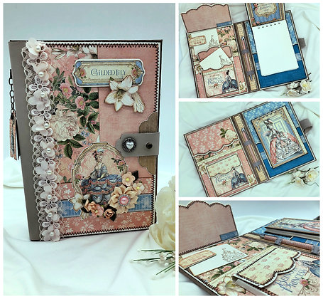 ladies diary blank notebook custom