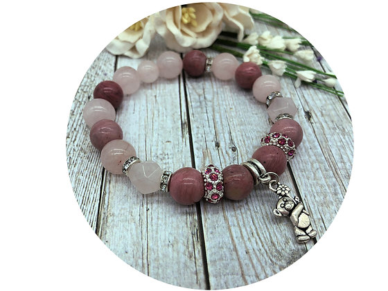rhodochrosite gemstone jewellery