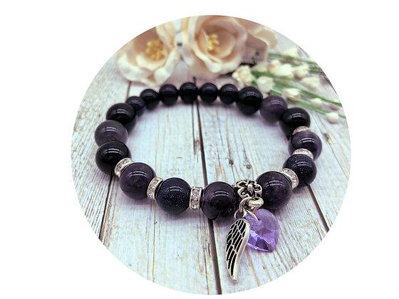 amethyst gemstone jewellery