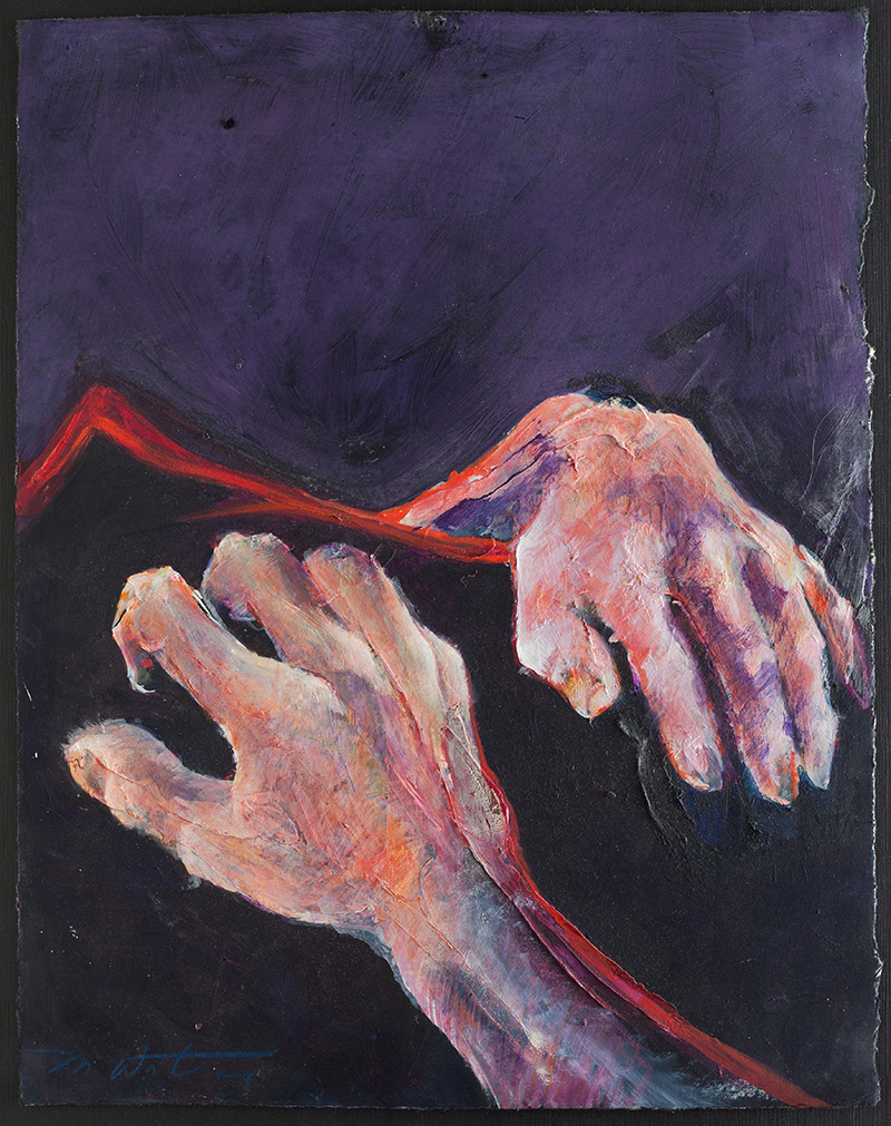 Hands, August 6th #4