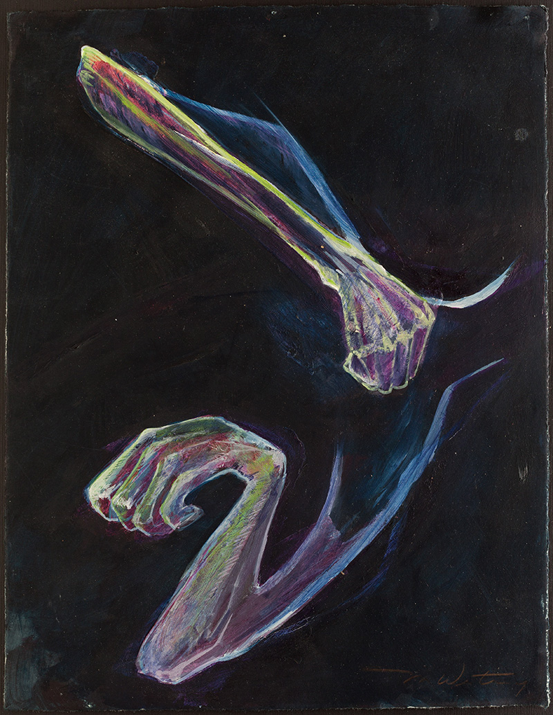 Hands, August 6th #2