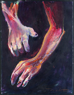 Hands, August 6th #3