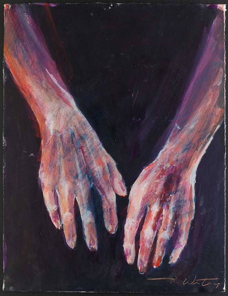 Hands, August 6th #5