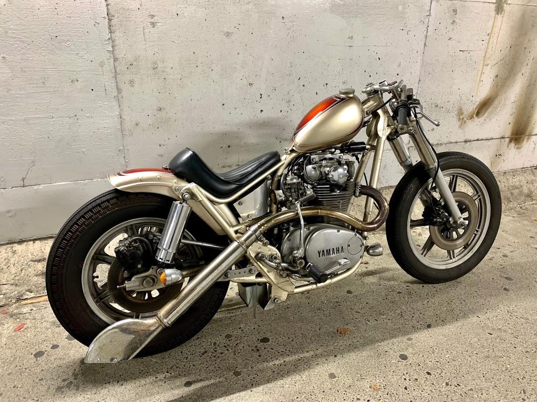 XS650/前職motorrock時代製作~リメイク