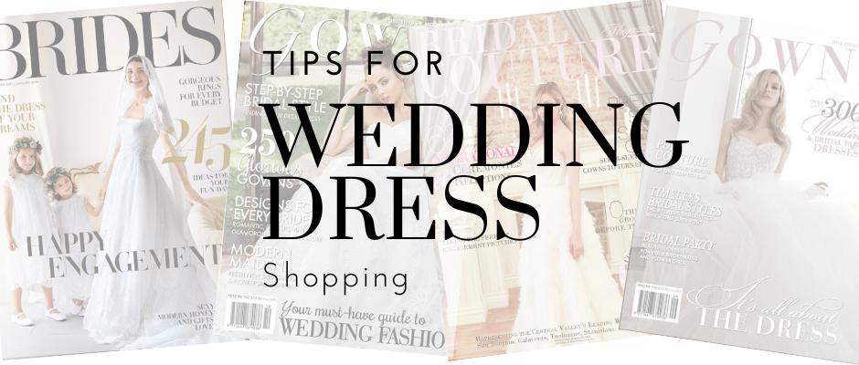 Tips for Wedding Dress Shopping
