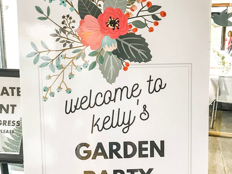 Kelly's Garden Party Bridal Shower