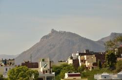 Madhurasa view of Sajjan Garh Fort