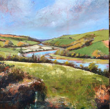 """Above the Dart   12""""x12"""" £220"""