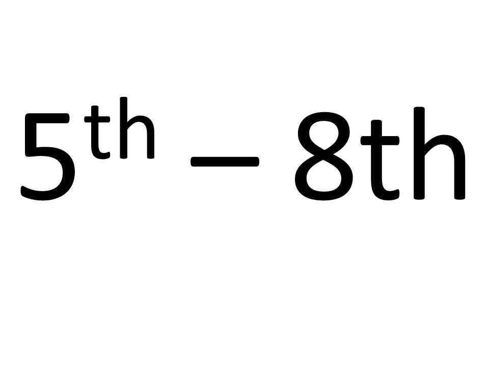5th - 8th