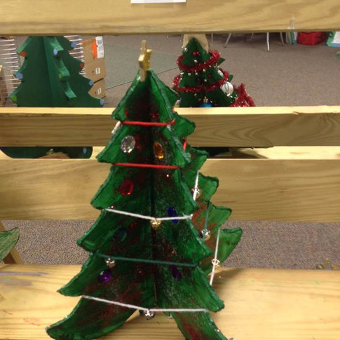 Christmas Tree Competition Contestants