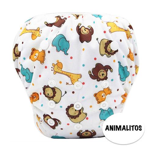PAÑAL PARA AGUA ANIMALITOS