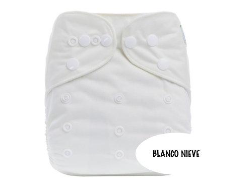 PAÑAL BAMBOO CARBON BLANCO NIEVE