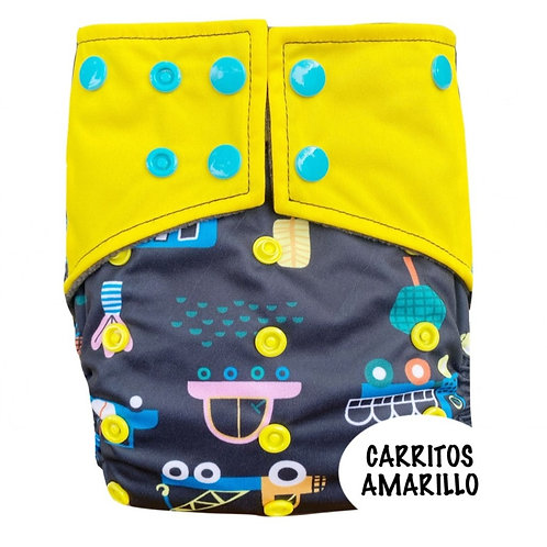 PAÑAL BAMBOO CARBON CARRITOS AMARILLO
