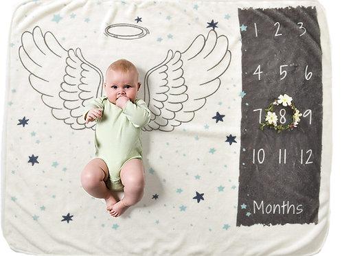Toalla Cobija Angel - Para fotos mes a mes