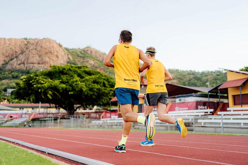 Hungry Runner Running castle hill