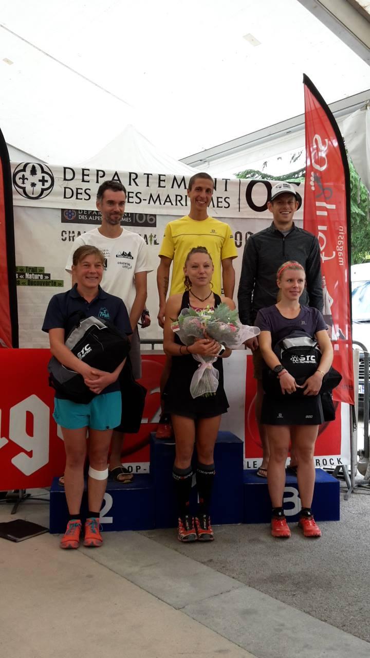 Hungryrunner Sospel podium