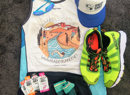 Pre-race preparation for running (ultra's)