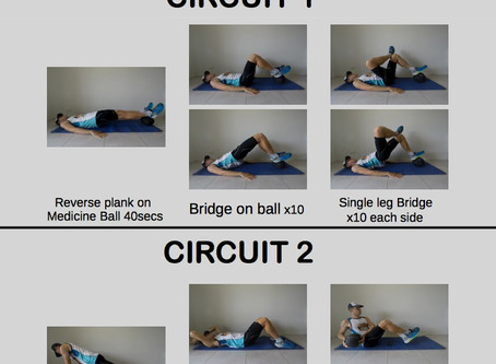 Endurance Workout #2: Strong Glutes and Core
