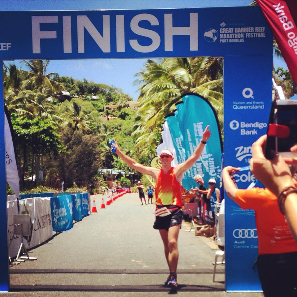 Taking the Win in GBR ultra 2014