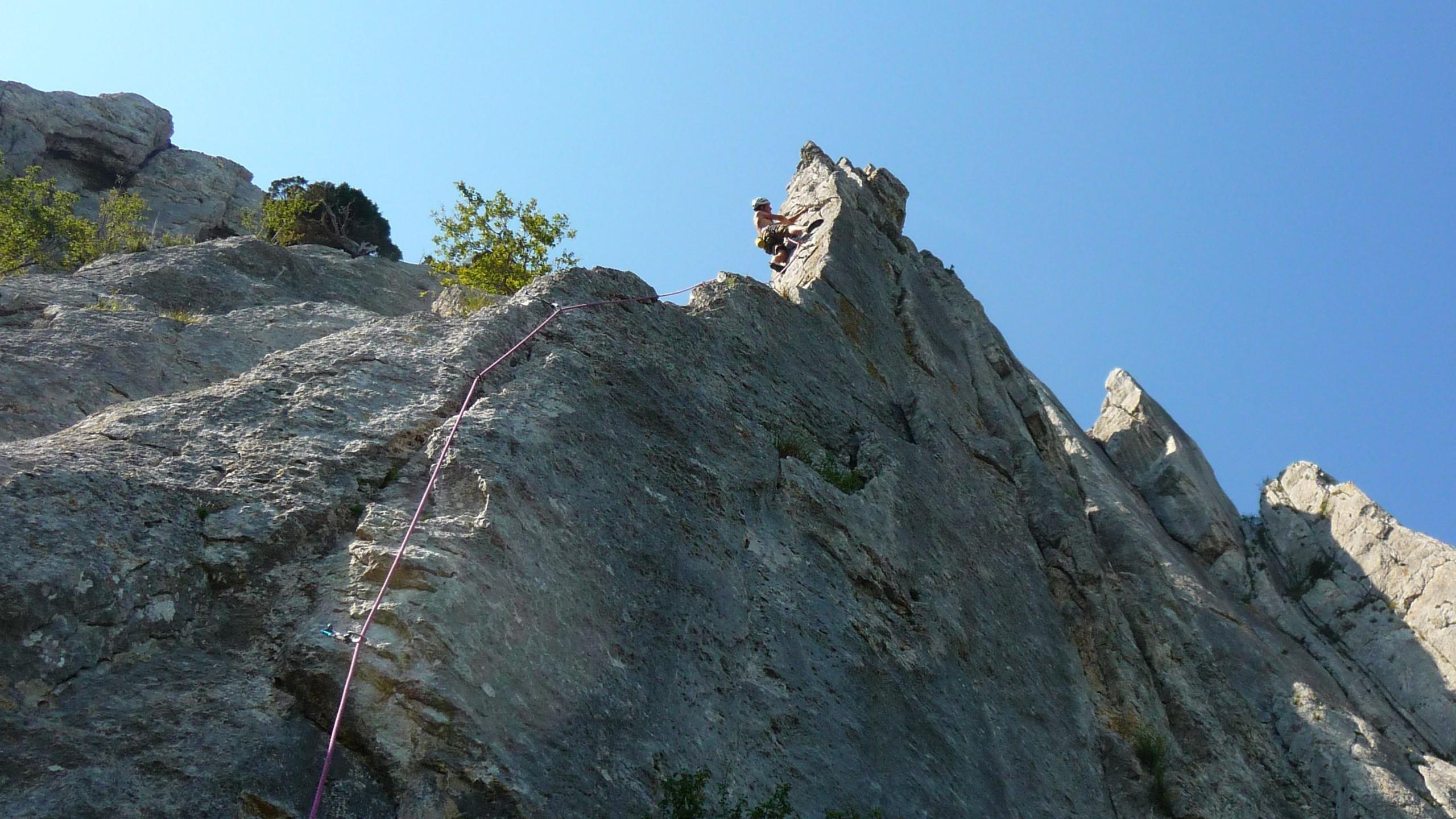 Climbing France, Dentelles
