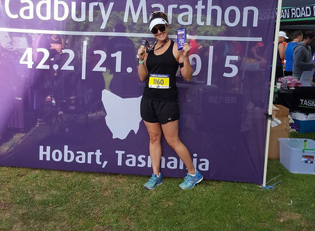 Race update: Cadbury Half-Marathon