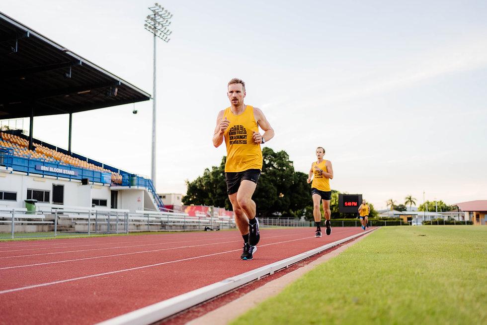 Group Running Townsville