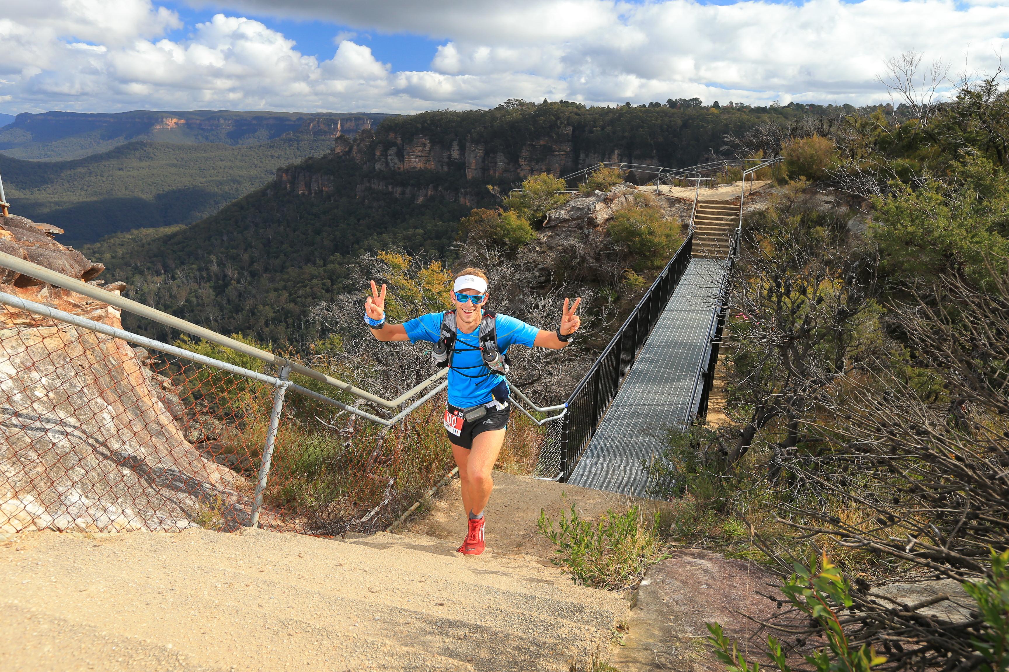 TNF100 Australia Happy trail face