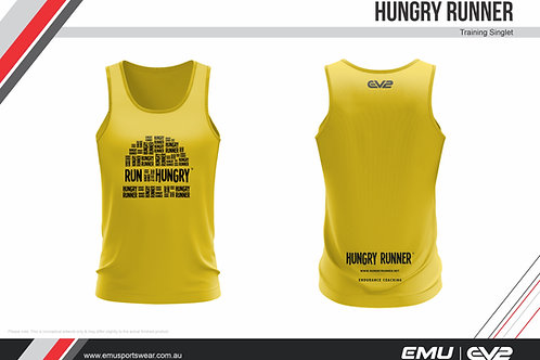 NEW GOLD Women Hungry Runner Singlets