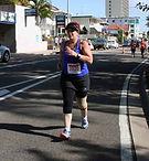 Coaching triathlon Anita
