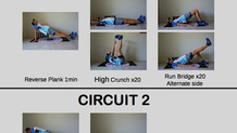Endurance Workout #1: Running stability