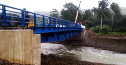 Ponte rodoviária: Rio Caué, São Tomé