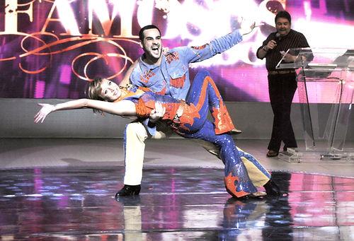 mauro fernandes katiuscia canoro danca famosos 2009