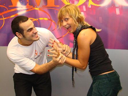 mauro fernandes katiuscia canoro dança famosos 2009 globo