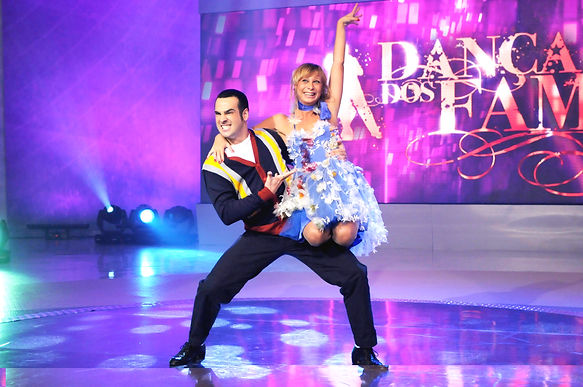mauro fernandes katiuscia canoro dança famosos 2009