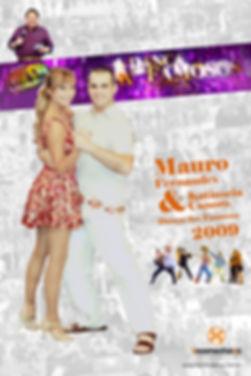 muro fernandes e katiuscia canoro danca famosos 2009 forró