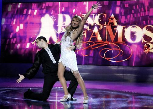 mauro fernandes katiuscia canoro danca famosos 2009 disco