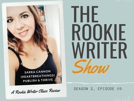 S2/E19: Publish and Thrive by Sarra Cannon