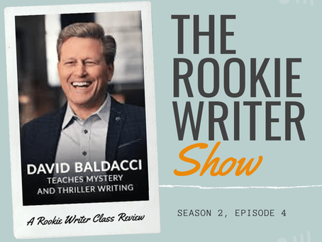 S2/E4: David Baldacci Teaches Mystery and Thriller Writing