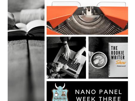 Episode 030 | NaNo Panel – Week 3
